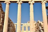 Athenian Acropolis - The Erechtheion - Athens Greece — Stock Photo