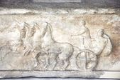 Acropolis Museum - Original Parthenon Frieze - Athens Greece — Stock Photo