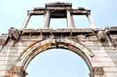 Arch of Hadrian - Athens Greece — Stock Photo