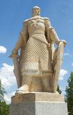 Statue of Diego Rodriguez, Burgos. Spain — Stock Photo