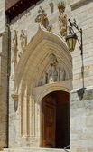 Kirche von st. nicolas de bari, burgos. spanien — Stockfoto