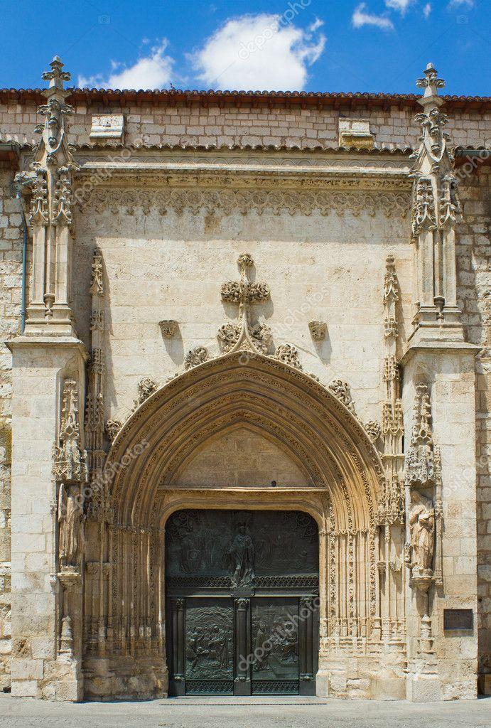 Iglesia de San lesmes abad, burgos. España — Foto de Stock #12376930 — Deposi...