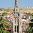 Gothic Pinnacles of Burgos Cathedral. Spain — Lizenzfreies Foto