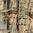 Gothic Dome of The East Face of Burgos Cathedral. Spain — Stock Photo