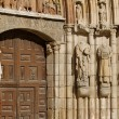 Door Jambs of San Esteban Church, Burgos. Spain — Foto de Stock