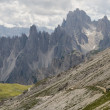 Cadini di Misurina — Stock Photo