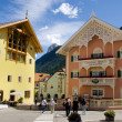Town center of Ortisei — Stock Photo