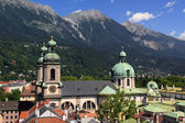 Cathedral of Innsbruck — Stock Photo