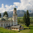 Rococo church in Austria — Stock Photo