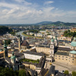 Salzburg panorama - Stock Photo