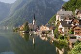 Hallstatt, the most beautiful lake town — Stock Photo