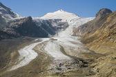 Pěší a skalního ledovec — Stock fotografie