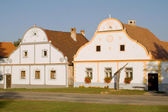 Baroque houses on Holasovice — Stock Photo