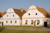 Baroque houses on Holasovice — Stock Photo