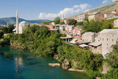 Old town of Mostar — Stock Photo