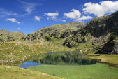 Serene landscape in the Pyrenees — Foto Stock