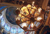 Interior of St. Isaak's Cathedral, Saint-Petersburg — Stock Photo
