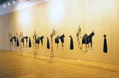 Moskau internationale junge kunstbiennale — Stockfoto