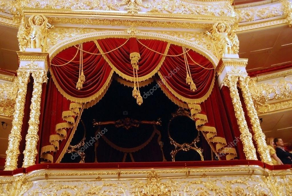 Фото интерьер большой театр