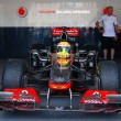 Vodafone McLaren Mercedes sport car — Stock Photo
