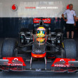 Vodafone McLaren Mercedes sport car - Stock Photo