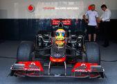 Vodafone McLaren Mercedes sport car — Stock Photo
