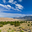 Beautiful mountains and dune landscape — Stock Photo