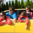 Stock Photo: Family vacation, car trip