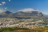 View of Cape Town and Table mountain — Stock Photo