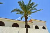Classical Mediterranean Spanish style building — Stock Photo
