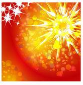 Shining Star Christmas — Stock Vector