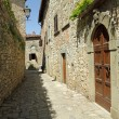 Narrow stone street - Stockfoto