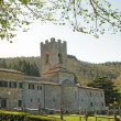Coltibuono abbey — Stock Photo