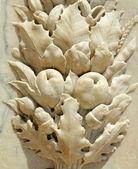 Marble vegetable motif — Stock Photo