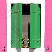 Colorful window — Stock Photo