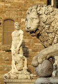 Medici Lion — Stock Photo