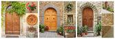 Doorways set — Stock Photo