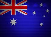 Australian flag wall, abstract background — Stock Photo