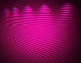 Illuminated pink violet wall, abstract background — Stock Photo