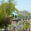 Stok fotoğraf: Statue of Prince Albert in centre of Charlotte Square, Edinburgh
