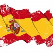 Grange Flag of Spain — Stock Photo