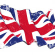 Grange Flag of UK — Stock Photo