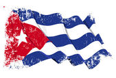 Grange Flag of Cuba — Stock Photo