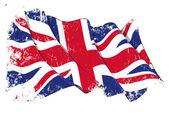 Grange Flag of UK — Stock Photo