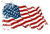 Grange Flag of USA — Stock Photo