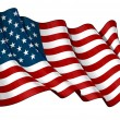 Flag of USA — Foto de Stock