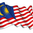 Flag of Malaysia — Stock Photo #11455566