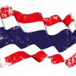 Grunge Flag of Thailand — Stock Photo