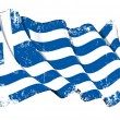 Grunge Flag of Greece — Stock Photo #11529628