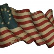USA Betsy Ross Historic Flag — Stock Photo #11766670